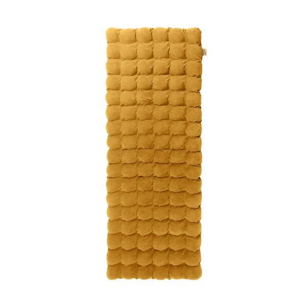 Hořčicová relaxační masážní matrace Linda Vrňáková Bubbles, 65x200cm