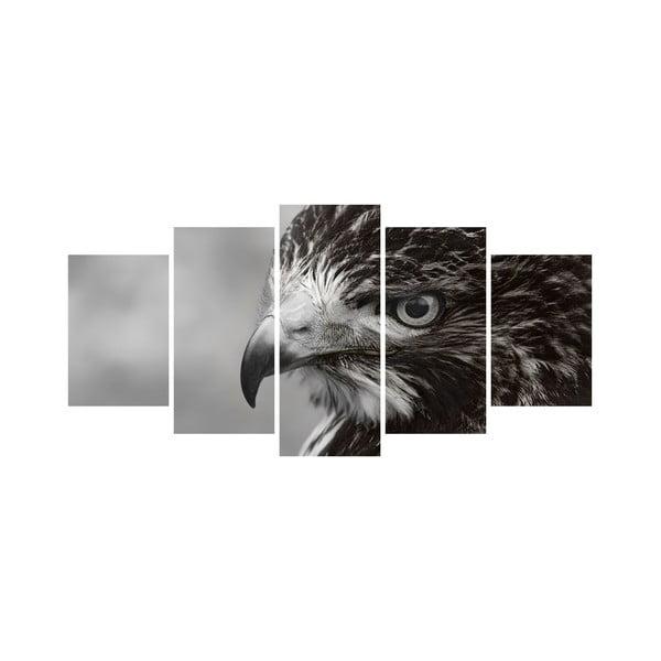 Vícedílný obraz Black&White no. 100, 100x50 cm