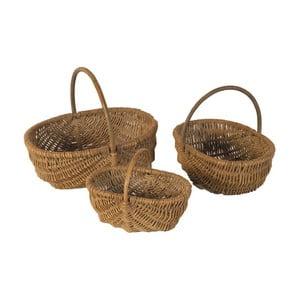 Sada 3 proutěných košíků Antic Line Baskets
