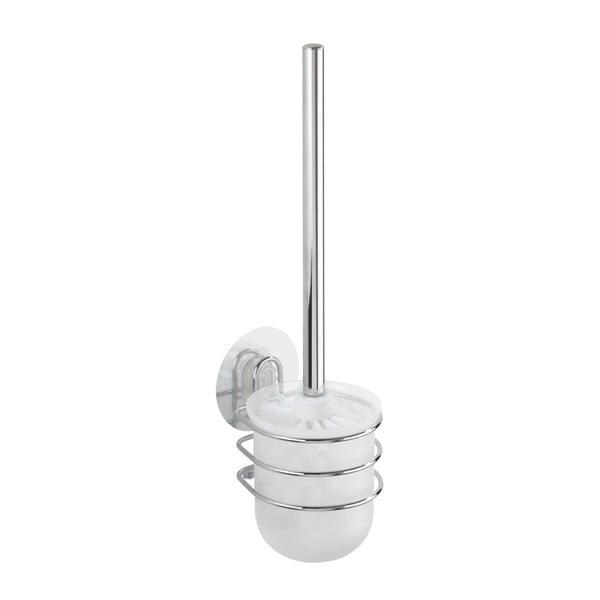 Samodržící nástěnný stojan s toaletním kartáčem Wenko Static-Loc