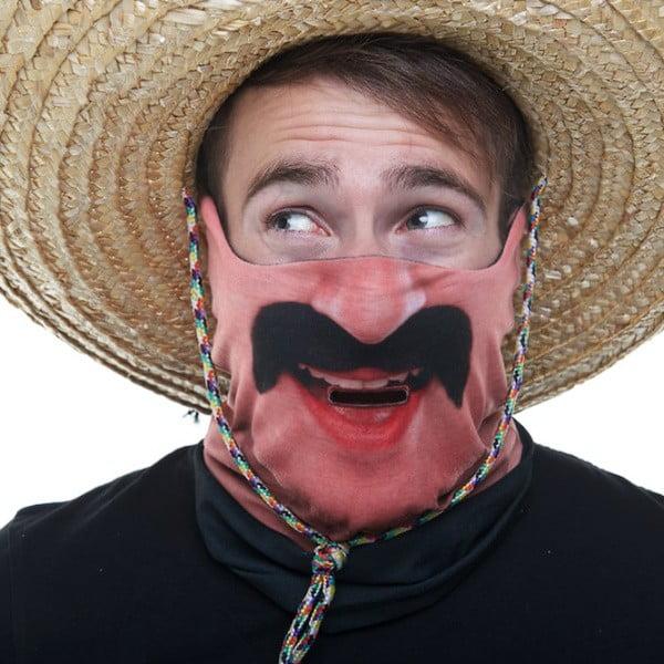 Lyžařská maska Mexi