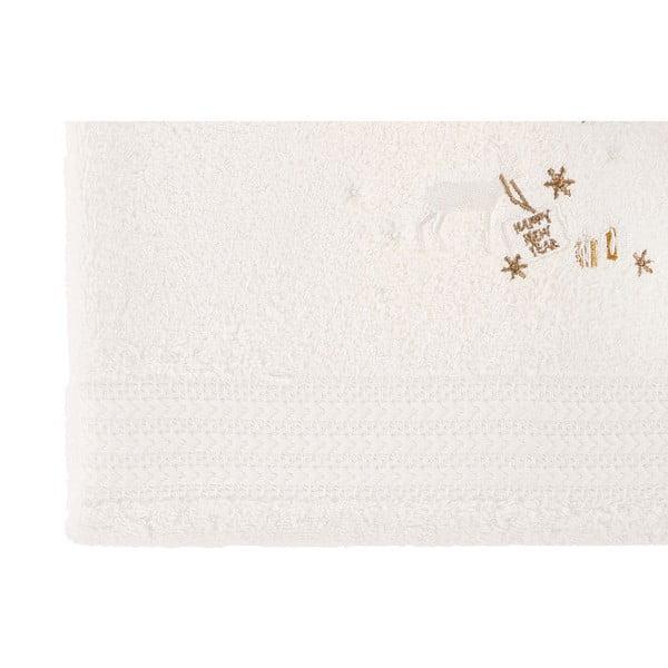 Sada 2 bílých osušek Gifts, 70x140cm