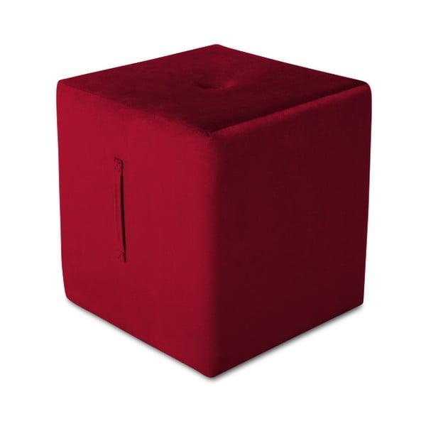 Puf Mazzini Sofas Margaret, 40 x 45 cm, roșu