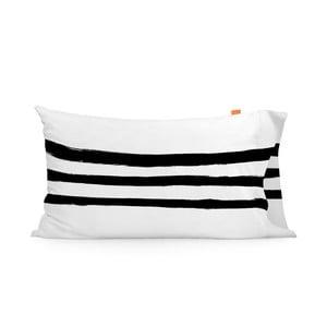 Sada 2 bavlněných povlaků na polštář Blanc Stripes, 50x80cm