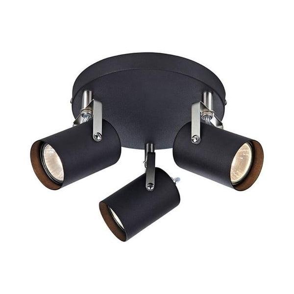Čierne stropné svietidlo Markslöjd Key