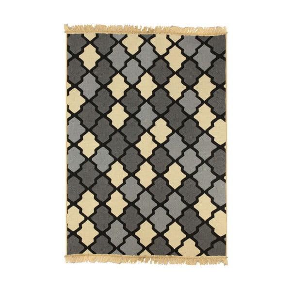 Šedo-béžový koberec Ya Rugs Duvar, 80x150cm