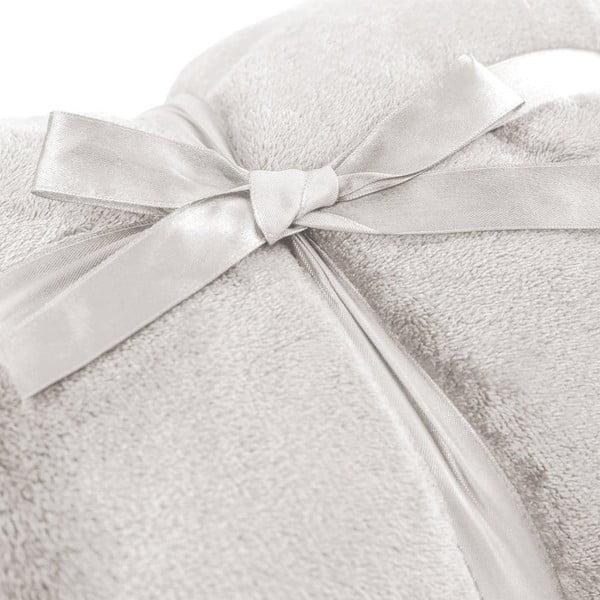 Krémová deka z mikrovlákna DecoKing Mic, 70x150cm