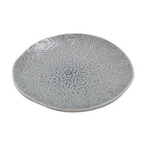 Keramický talíř Botanic Dusty Blue, 28 cm