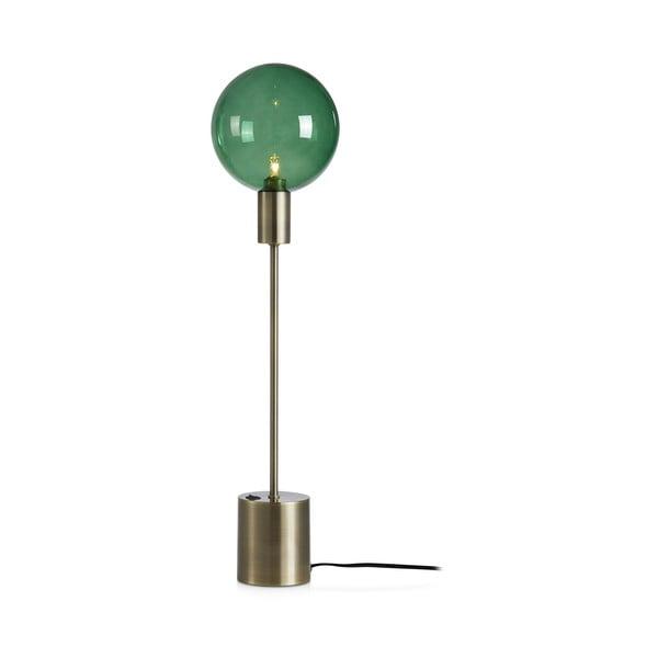 Zielona lampa stołowa Markslöjd Uno Table 1L