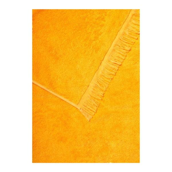 Sada 2 oranžových bavlněných ručníků Casa Di Bassi Bath