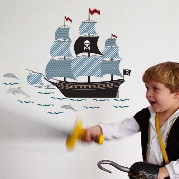 Nástěnná samolepka Art For Kids Pirate Ship