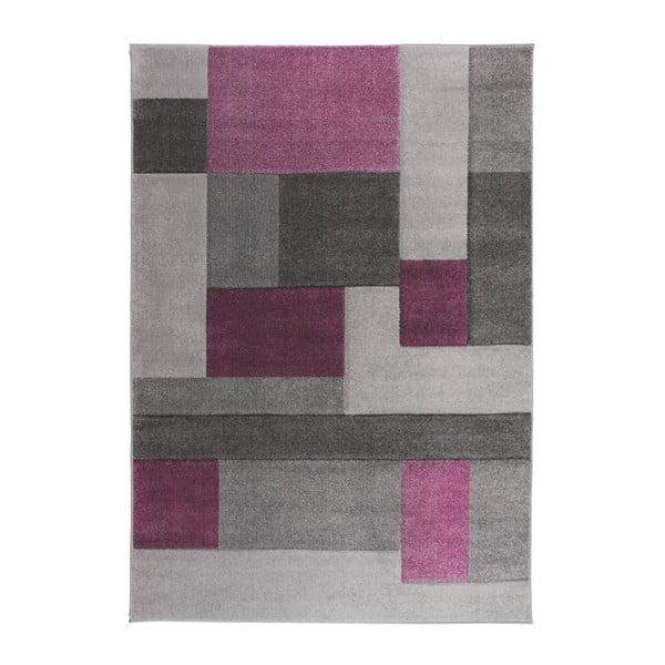 Covor Flair Rugs Cosmos Purple, 160 x 230 cm, gri-mov