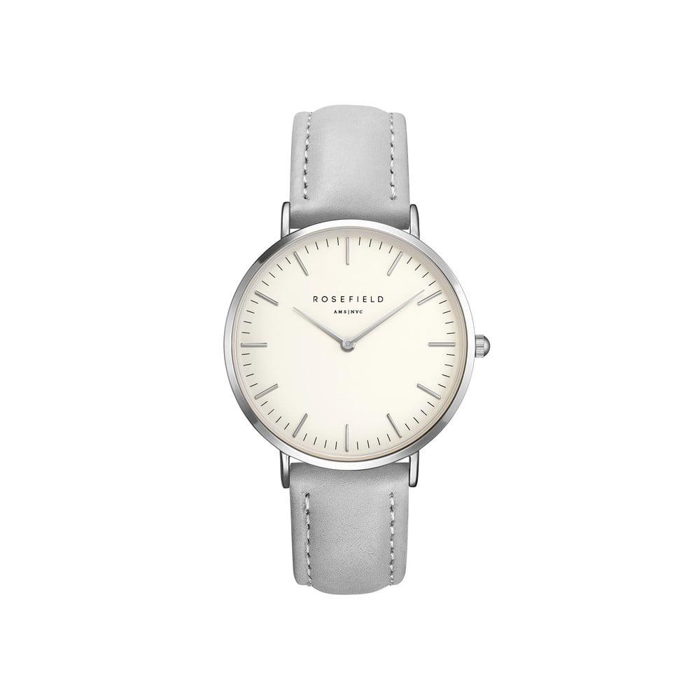 Stříbrnošedé dámské hodinky Rosefield The Bowery 678364decb