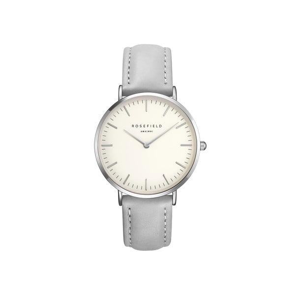 Stříbrnošedé dámské hodinky Rosefield The Bowery