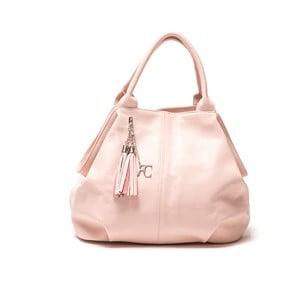 Kožená kabelka Renata Corsi 1076, růžová