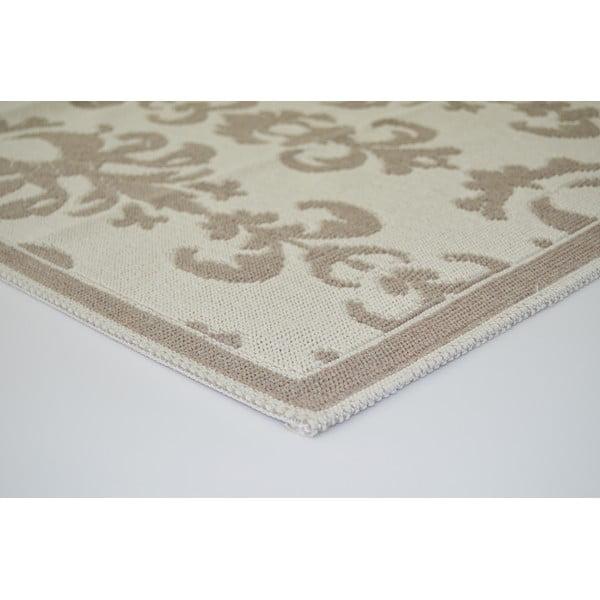 Béžový odolný koberec Vitaus Yemgec Bej, 100 x 200 cm