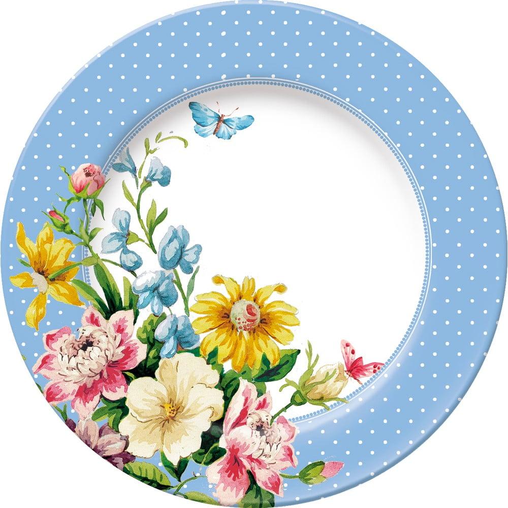 Dezertní porcelánový talíř Creative Tops English Garden, Ø 19 cm