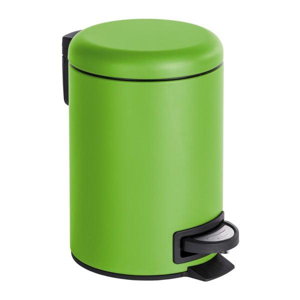 Coș de gunoi cu pedală Wenko Leman, 3 l, verde