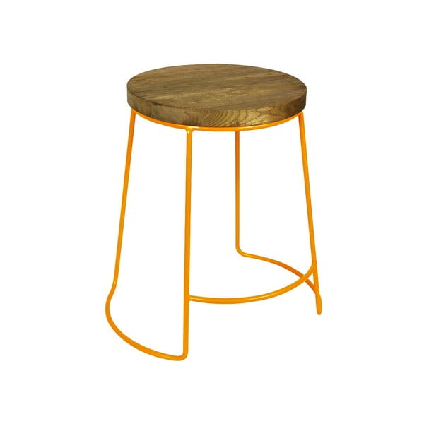 Odkládací stolek Emery Orange