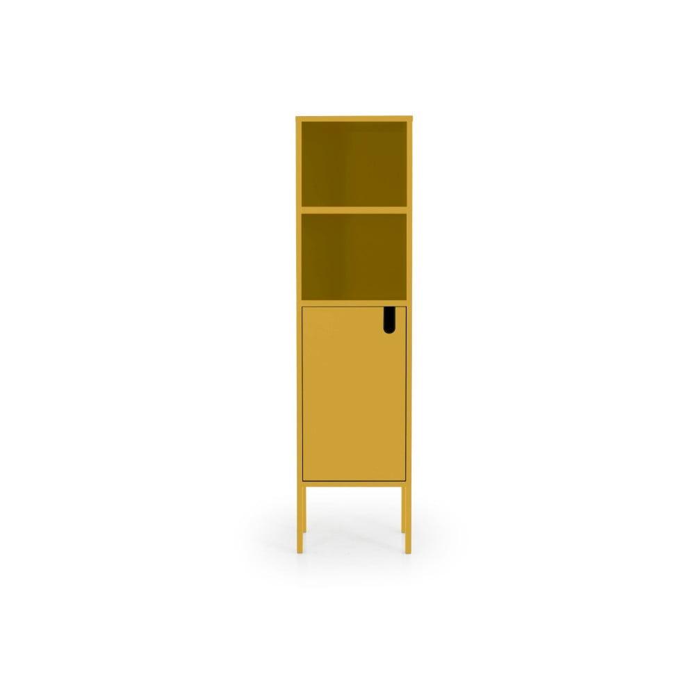 Žlutá skříň Tenzo Uno, výška 152 cm