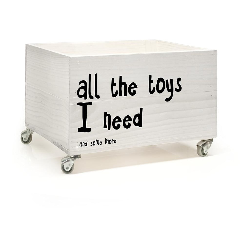 d ev n krabice na kole k ch little nice things all the toys bonami. Black Bedroom Furniture Sets. Home Design Ideas