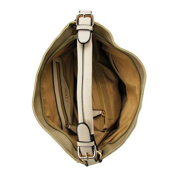 Kožená kabelka Stella Sand