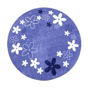 Dětský fialový koberec Zala Living Flower, ⌀100cm