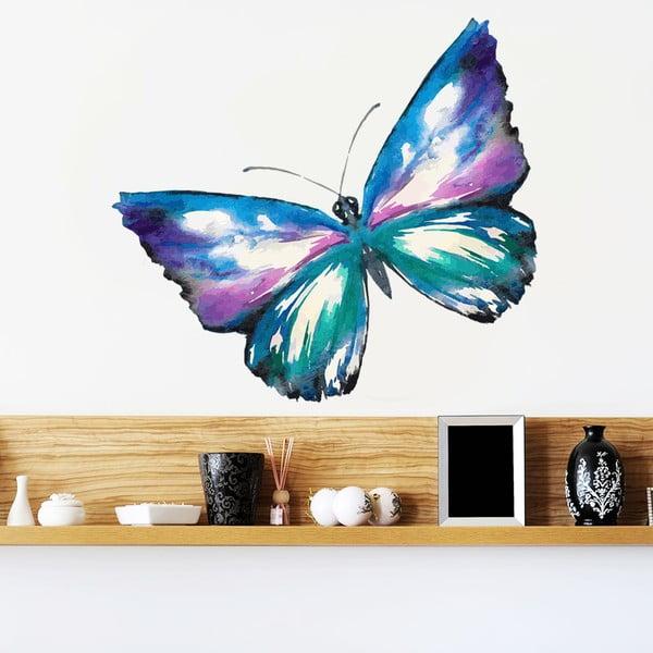 Samolepka Malovaný motýl, 70x50 cm