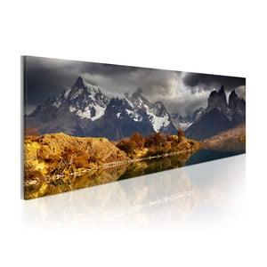 Obraz na plátně Artgeist Storm Landscape, 120x40cm