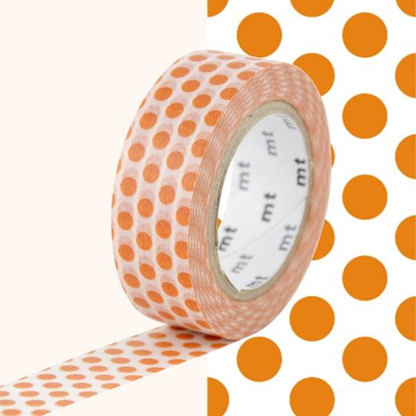 Bandă decorativă Washi MT Masking Tape Caroline, rolă 10 m