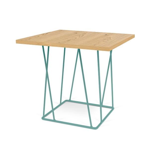 Konferenční stolek se zelenými nohami TemaHome Helix, 50 cm