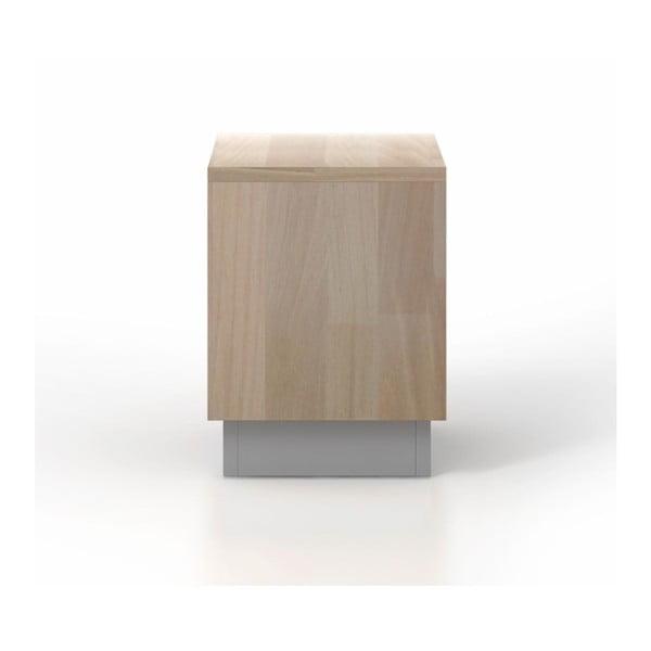 Noční stolek z bukového a borovicového dřeva SKANDICA Finn