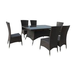 Zahradní stůl se šesti křesly Malaga