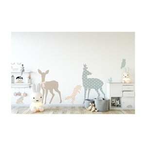 Autocolant pentru perete Dekornik Our Friends Animals