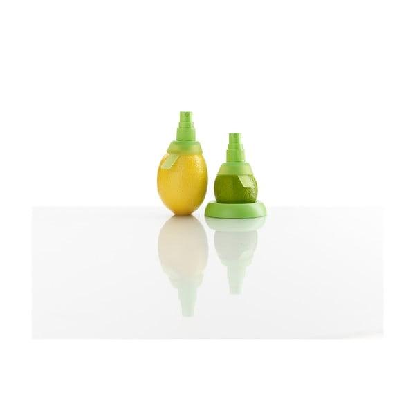 Sada 2 zelených rozprašovačů na citrusy Lékué