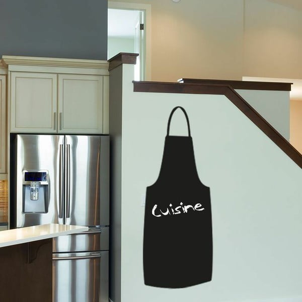 Samolepka Cooking apron blackboard, 125x55 cm