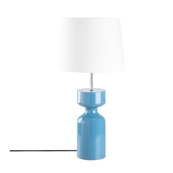 Veioză din lemn Opviqlights Asteria, albastru