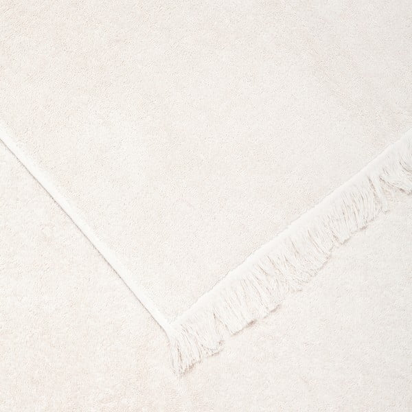 Set 2 prosoape din bumbac Casa Di Bassi Face, 50 x 90 cm, crem