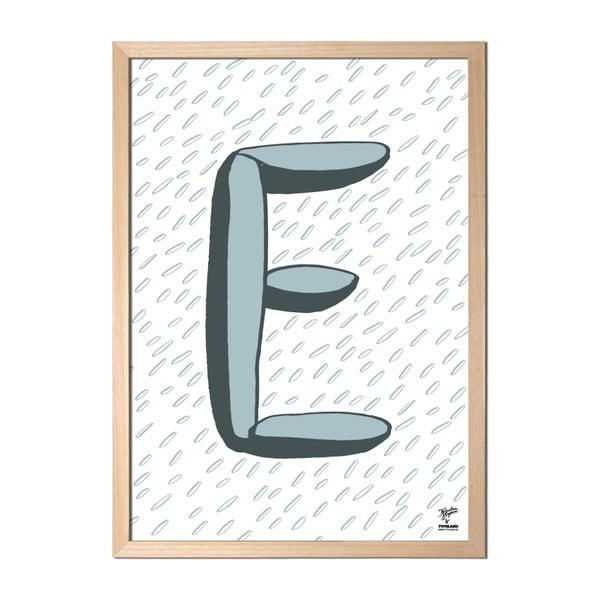 Plakát E od Karolíny Strykové
