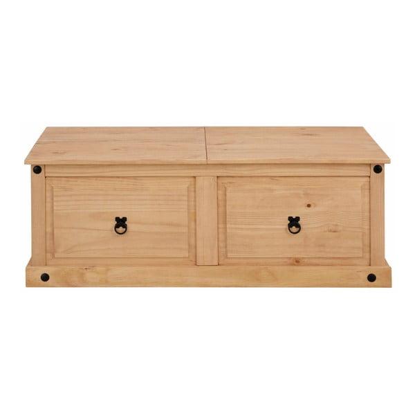 Odkládací stolek z borovicového dřeva Støraa Alfredo