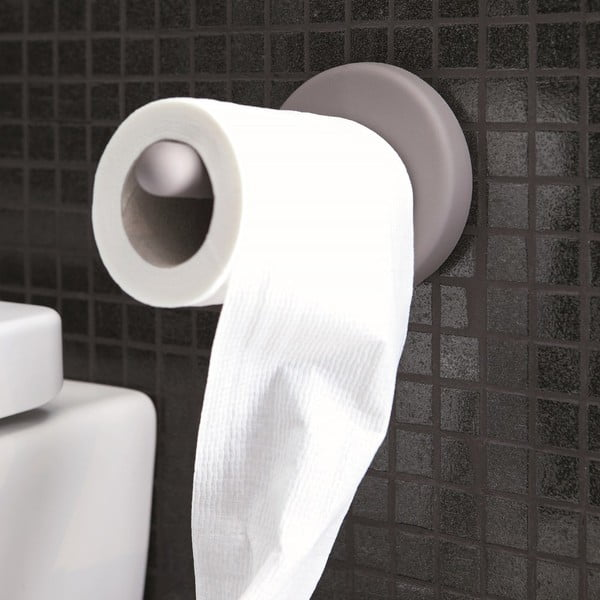 Samodržící držák na toaletní papír Portaro, bílý