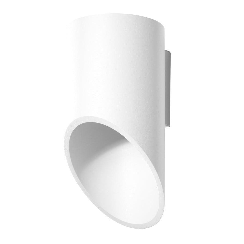 Bílé nástěnné světlo Nice Lamps Nixon, délka20cm