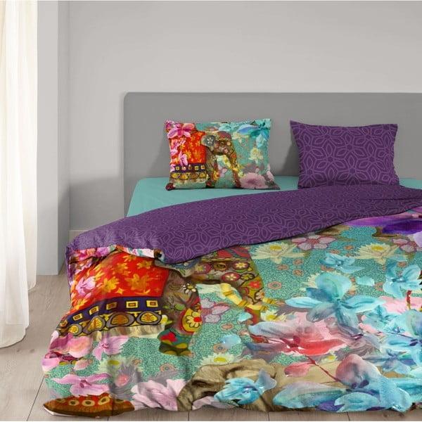 Povlečení z bavlny na dvoulůžko Good Morning Eclectic, 200x200 cm