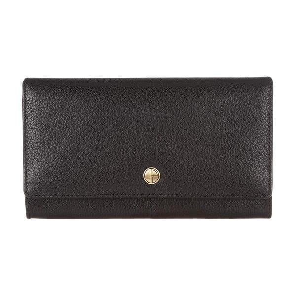 Dámská kožená peněženka Wells Finest Natural Black