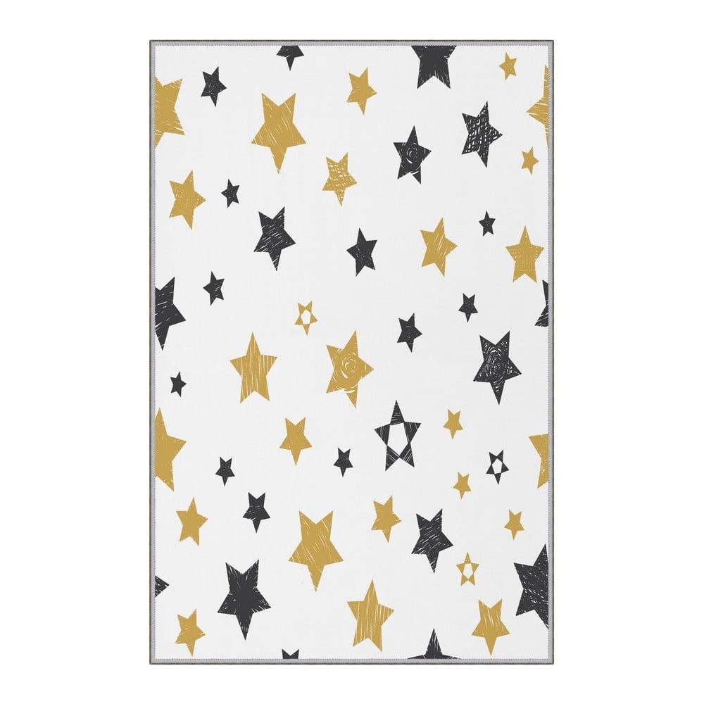 Dětský protiskluzový koberec Homefesto Stars,100x150cm