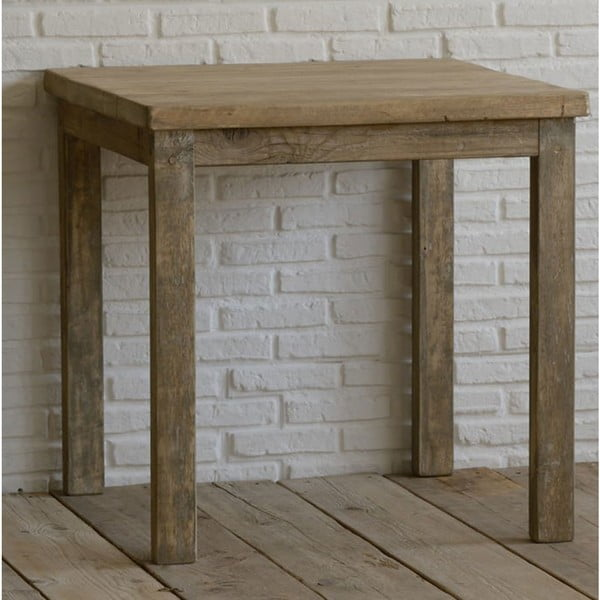 Stolek z recyklovaného dřeva Old Wood, 80x80cm