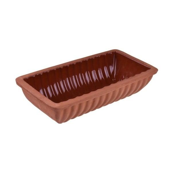 Hlinená forma na pečenie Bambum Turta, 29 × 15 cm