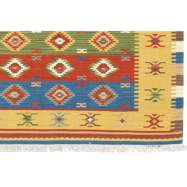 Ručně tkaný koberec Kilim Classic K38, 155x215 cm