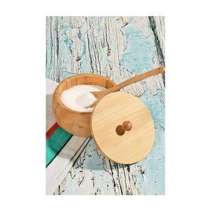 Recipient din bambus pentru zahăr Kosova, 10,5 cm