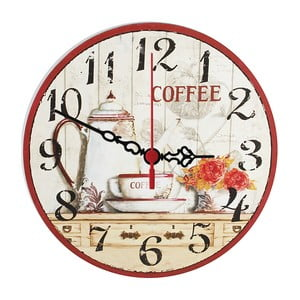 Nástěnné hodiny Coffee Time, 30 cm